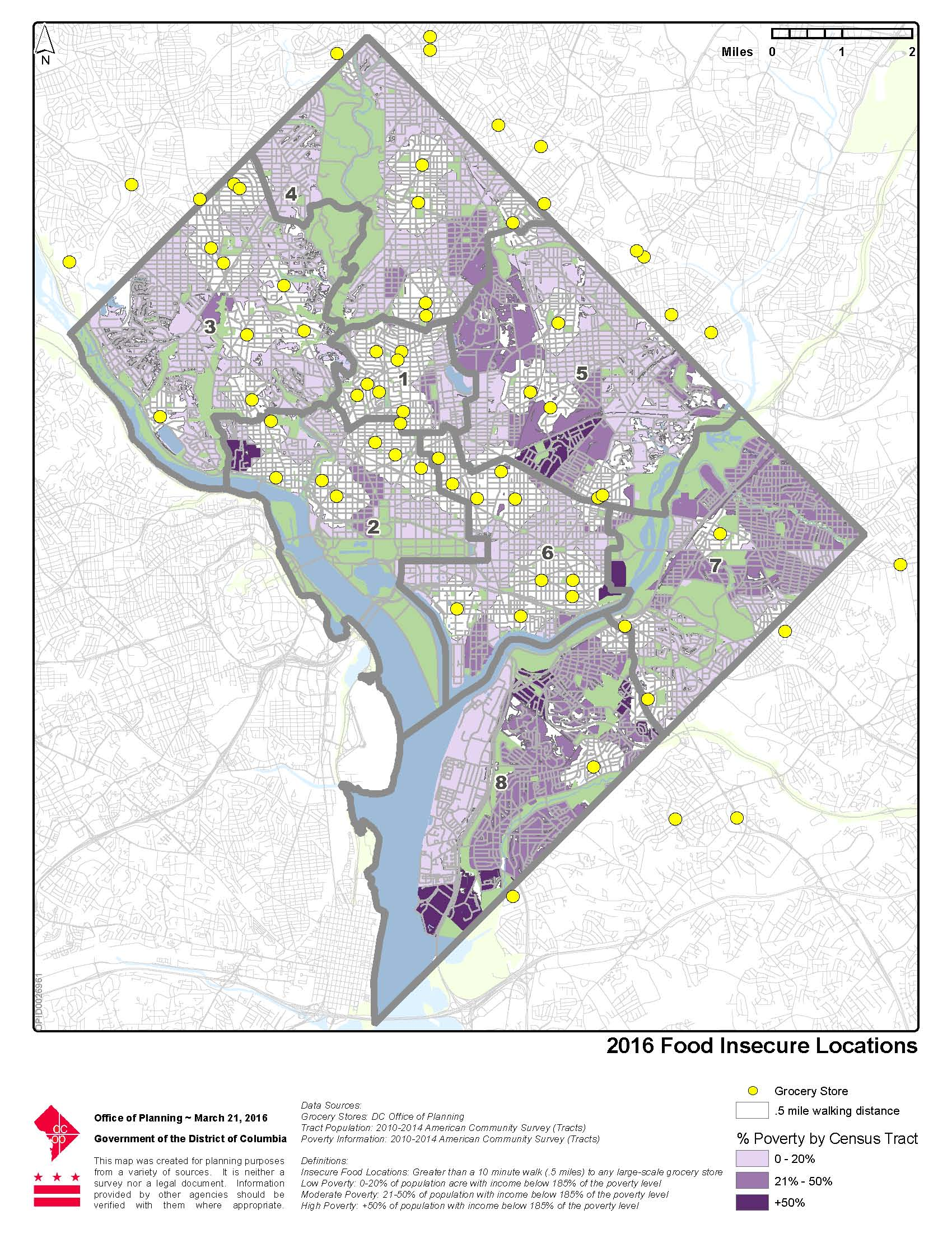 Maps Dc Food Policy Council